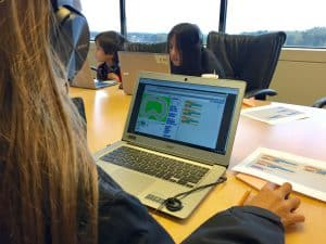 Kids Learning to Code in Scratch
